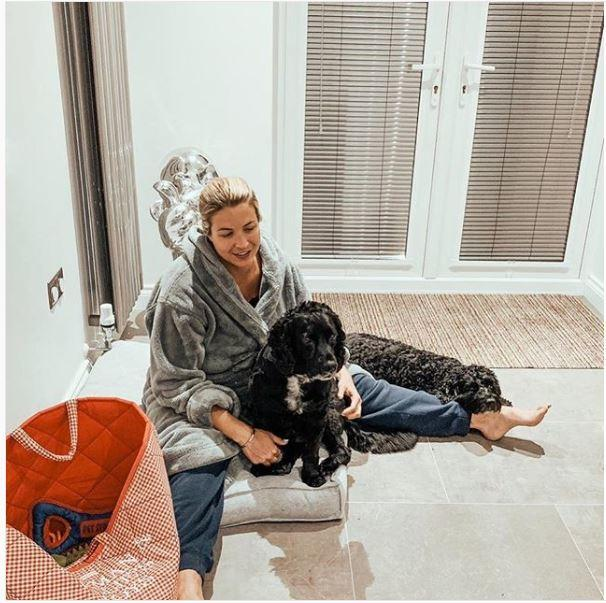 Gemma Atkinson and her dogs, picture credit Gemma Atkinson Instagram