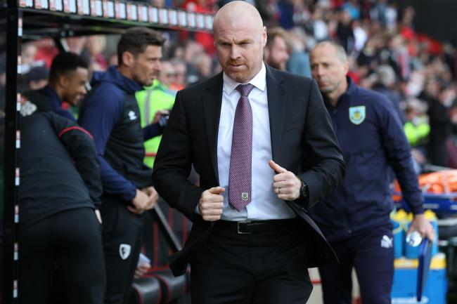 AFC Bournemouth v Burnley at the Vitality Stadium in Bournemouth. .Sean Dyche. ..