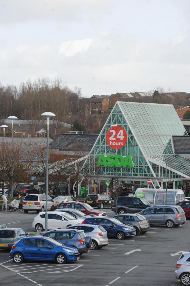 The Asda store in Blackburn