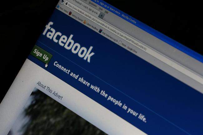 File photo dated 19/10/12 of a general view of the Facebook home page on a laptop screen as Facebook has rejected suggestions its new smartphone software could destroy privacy by tracking a user's every move. PRESS ASSOCIATION Photo. Issue date: Frida