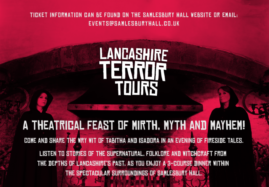 Terrifying Tours at Samlesbury Hall