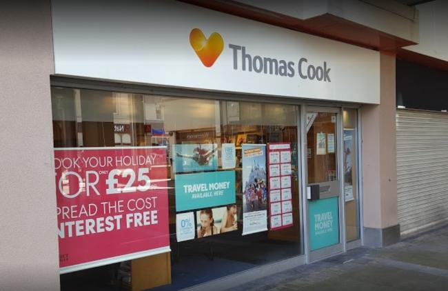Holiday firm buys up all East Lancashire Thomas Cook stores