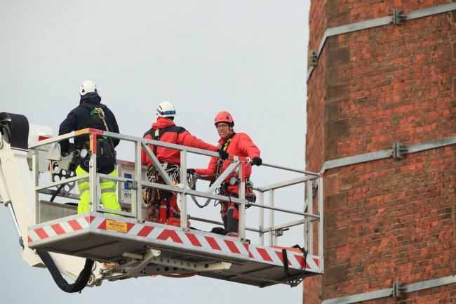 Man Stuck At Top Of Cumbria Chimney Confirmed Dead Say