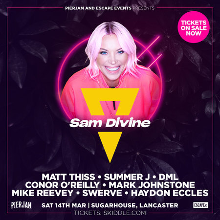 PierJam and Escape Events Present: Sam Divine