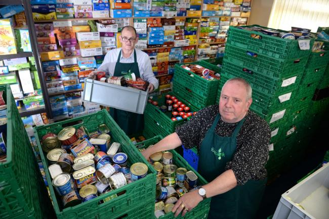 Foodbank Usage Increases Across Lancashire And North West