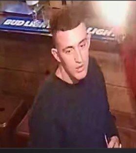 Police want to speak to this man in relation to an incident in Tiger Lounge, Rawtenstall
