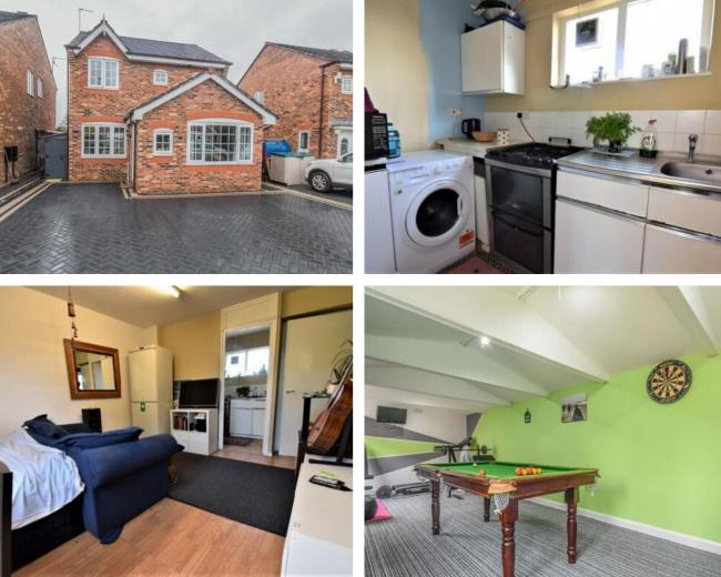 What you can afford in Blackburn vs the TINY studio flat in London for the same price