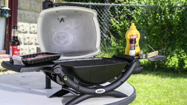 Lancaster And Morecambe Citizen: The Weber Q is a well-made, versatile portable gas BBQ. Credit: Reviewed / Betsey Goldwasser
