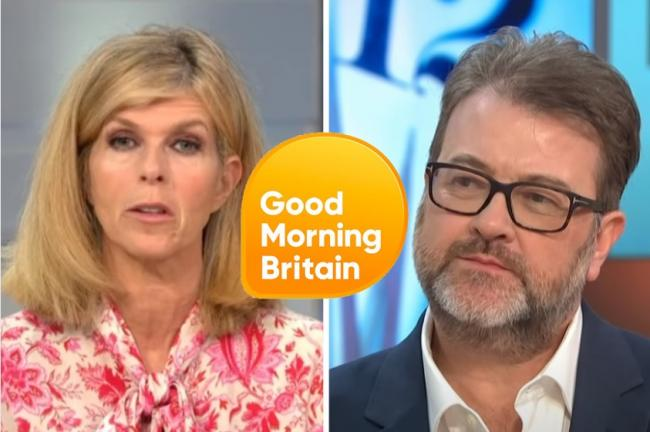 GMB: Kate Garraway updates viewers on husband Derek Draper's health. Pictures: ITV