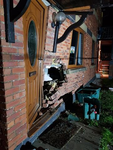 Police seek vehicle seller after man arrested for ramming car into front of house