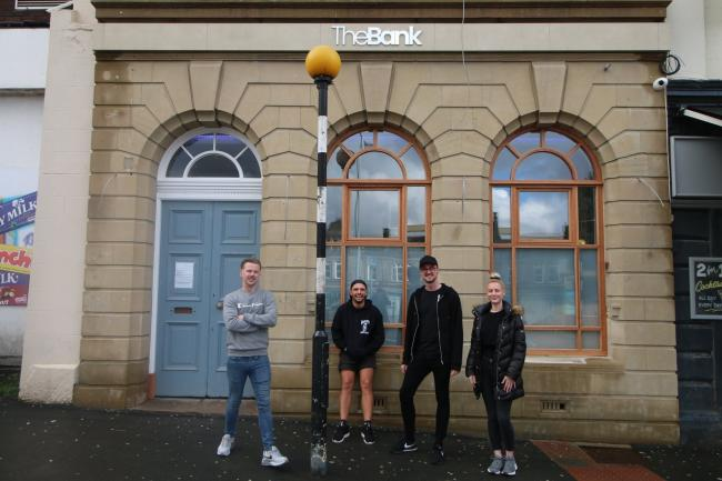 Kate West, Lloyd Lawson, Jamie Evans and Mark Taylor will be heading up the bar and kitchen teams at The Bank in Darwen
