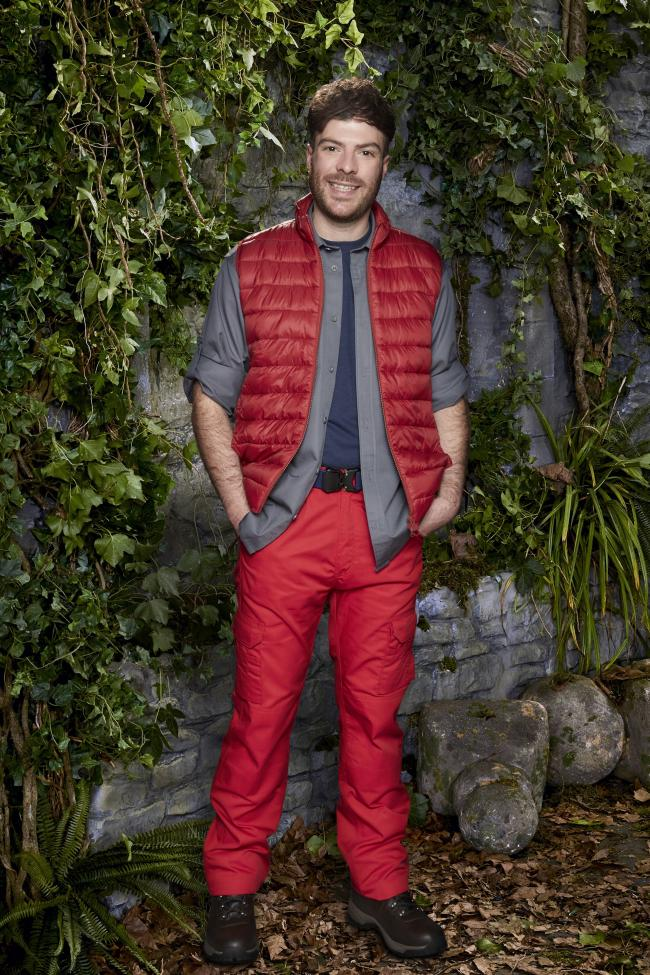 I'm A Celebrity... Get me Out Of Here! Pictured: Jordan North. Picture credit: ITV Studios