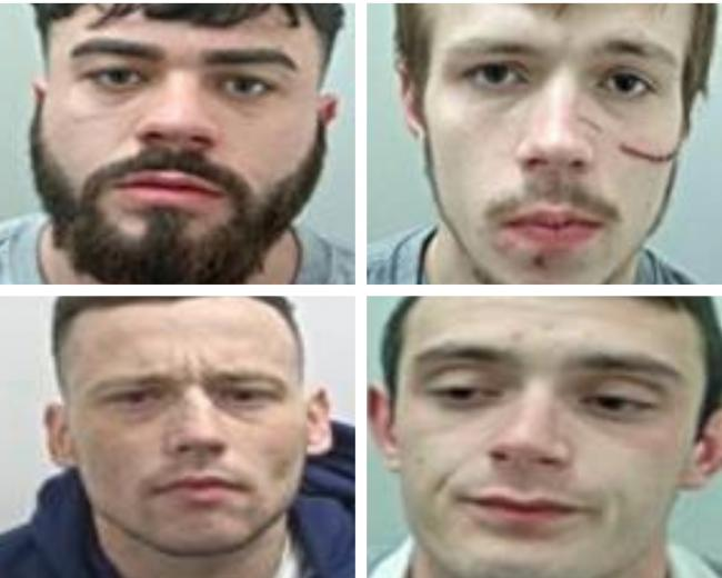 The reasons these four men are the most WANTED in Lancashire this week