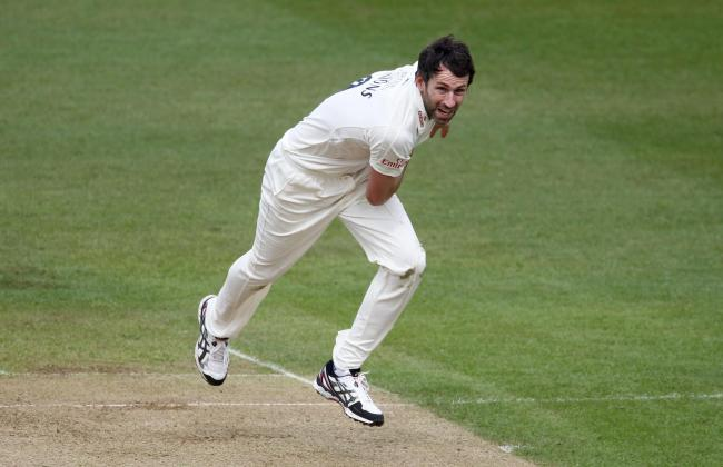 Durham's Graham Onions during the day one of the LV= County Championship Division One match at Edgbaston, Birmingham..