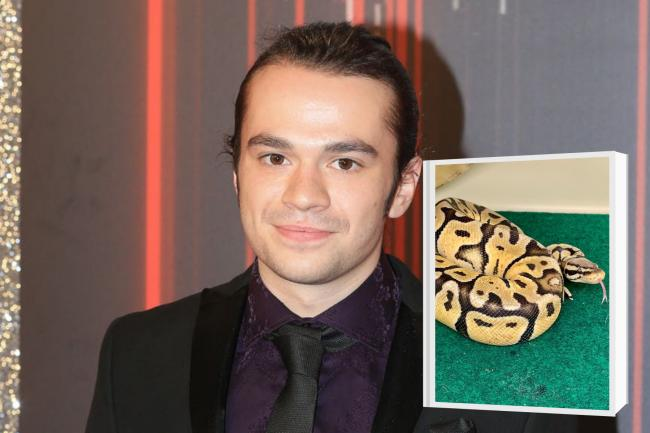 Coronation Street star finds four-foot snake in his bathroom. (PA/Canva)