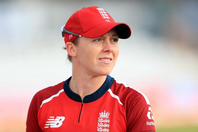 Heather Knight is relishing the trip to New Zealand (Mike Egerton/PA)