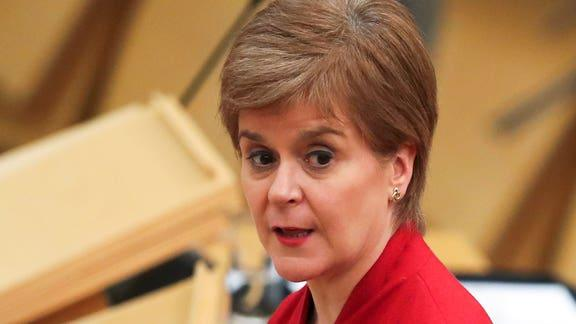 Lancaster And Morecambe Citizen: Nicola Sturgeon. (PA)