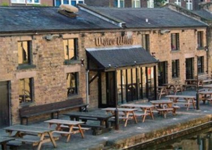 NAUTICAL FEEL: The canal-side Water Witch at Lancaster has a sophisticated atmosphere