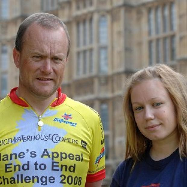 Mike and Rebecca Tomlinson will run two marathons and cycle 600 miles in eight days