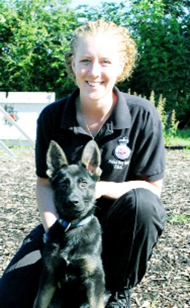 IN TRAINING PC Katie Jones and Jago