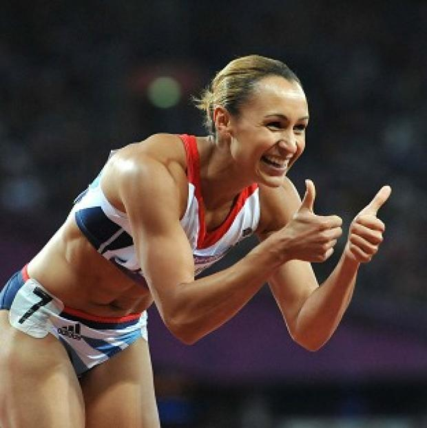 Jessica Ennis excelled in the 200m and 100m hurdles on day one