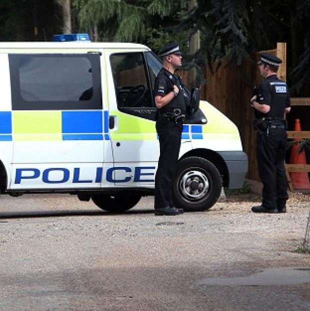 Police are investigating after the bodies of a man and a woman were found in Crays Hill, Essex