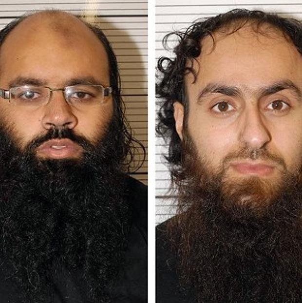 Lancaster And Morecambe Citizen: Irfan Naseer, left, and Irfan Khalid have been convicted of being 'central figures' in an extremist plot (West Midlands Police/PA)