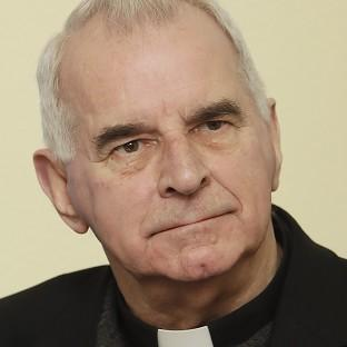 Cardinal Keith O'Brien, who resigned as Britain's most senior Catholic cleric