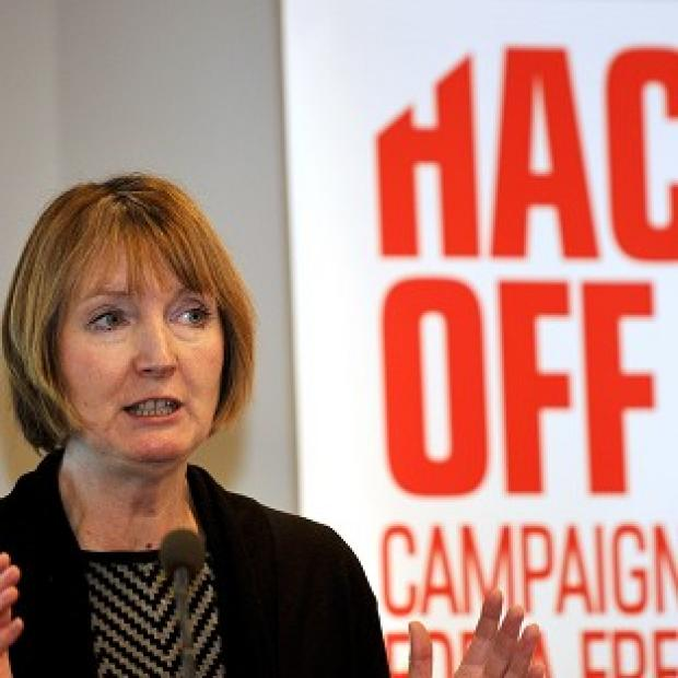 Deputy Labour leader Harriet Harman claims talks to set up a tough new press regulator have ended in a deal between the three major parties