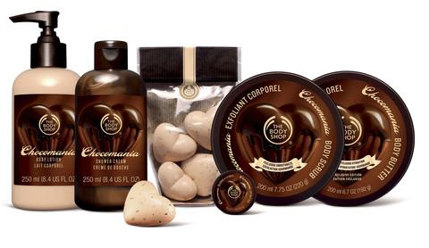 Lancaster And Morecambe Citizen: COCOA DREAM: The Body Shop's Chocomania range