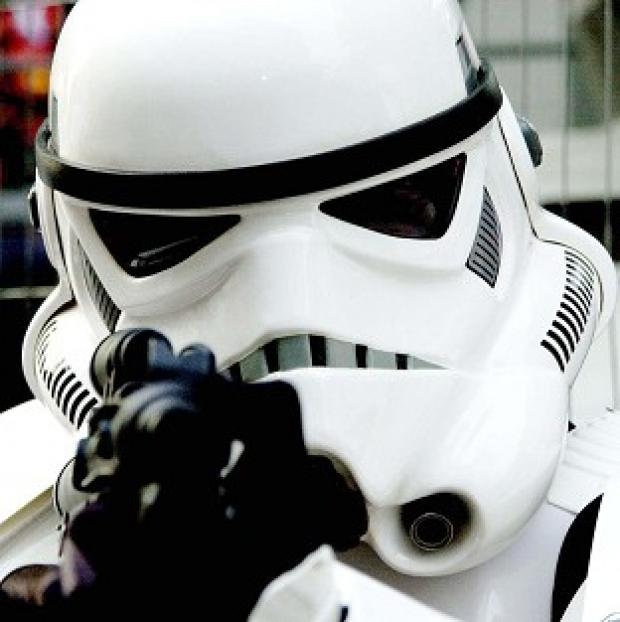 Lancaster And Morecambe Citizen: The latest Star Wars film is to be made in the UK