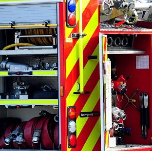 Lancaster And Morecambe Citizen: Firefighters and police found the body of an elderly woman at a building which had partially collapsed after a fire