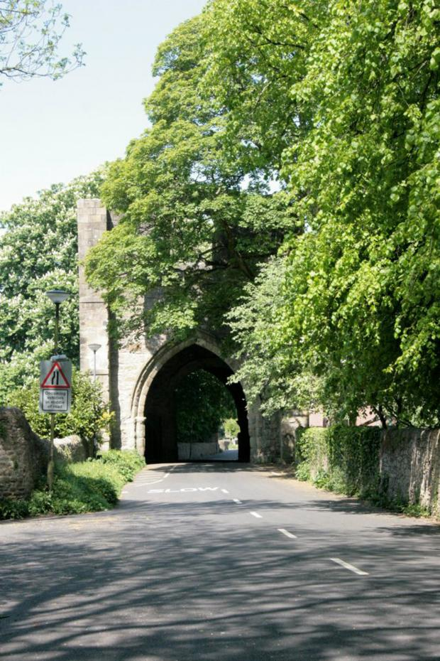 Lancaster And Morecambe Citizen: Whalley Abbey Gatehouse