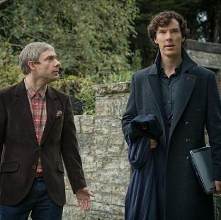 Lancaster And Morecambe Citizen: Holmes and Watson return in the hit BBC1 drama Sherlock