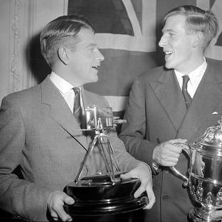 Lancaster And Morecambe Citizen: Sir Christopher Chataway, left, with Roger Bannister, was BBC Sports Personality of the Year in 1954