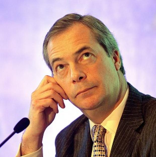 Lancaster And Morecambe Citizen: Nigel Farage was allegedly the victim of an a
