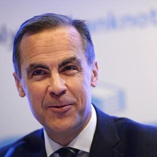 Lancaster And Morecambe Citizen: File photo dated 18/12/13 of Governor of the Bank of England Mark Carney who said there i