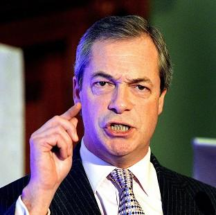 "Lancaster And Morecambe Citizen: Ukip leader Nigel Farage has dismissed the ban on handguns as ""ludicrous"""