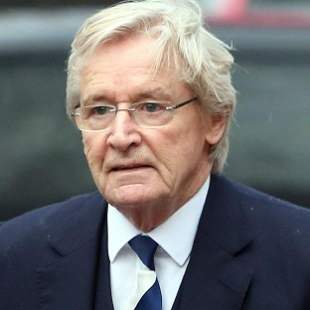 Lancaster And Morecambe Citizen: Coronation Street actor William Roache arrives at Preston Crown Court