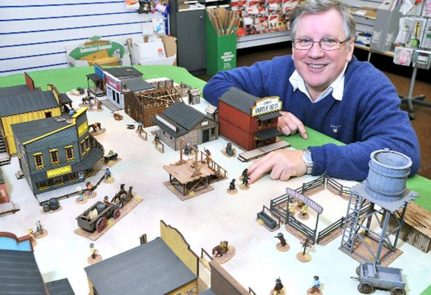 Lancaster And Morecambe Citizen: George Anderson prepares for a war game