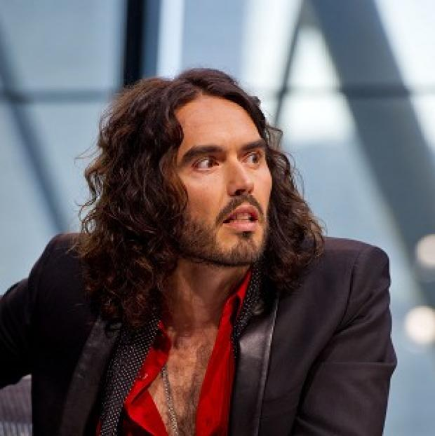 Lancaster And Morecambe Citizen: Russell Brand revealed that he has never voted