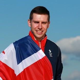 Lancaster And Morecambe Citizen: Team GB flag bearer Jon Eley at the 2014 Sochi Olympic Games.