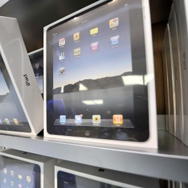 Lancaster And Morecambe Citizen: Whitehall departments have splashed out on 464 iPads, 314 iPhones, 160 Mac computers and two iPod Touches