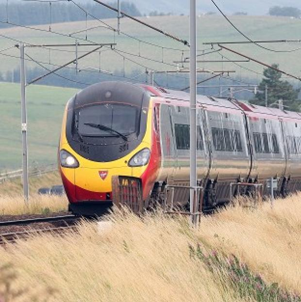 Lancaster And Morecambe Citizen: The designated 'comedy carriage' will be part of the Virgin Trains 2.30pm London Euston to Glasgow service on February 27