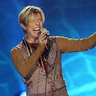 Lancaster And Morecambe Citizen: File photo dated 17/11/03 of Singer David Bowie who is tipped for his first prize at the BRIT Awards for almost two decades, with Arctic Monkeys and Ellie Goulding also among favourites for the big event tomorrow.