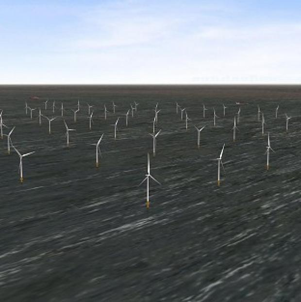 Lancaster And Morecambe Citizen: London Array's wind farm is the biggest of its kind in the world (PA/London Array)