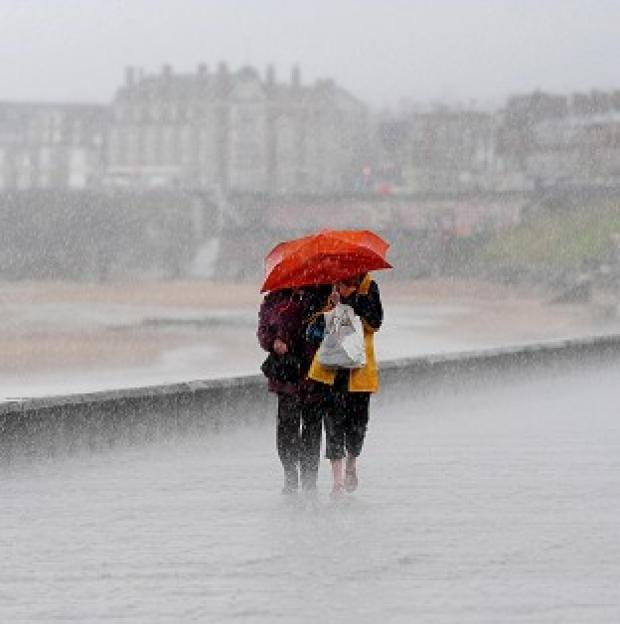 Lancaster And Morecambe Citizen: Pockets of northern England, Wales and Scotland can expect up to 40mm of rain, forecasters say