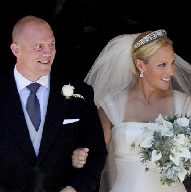 Lancaster And Morecambe Citizen: Zara Phillips and her husband Mike Tindall are the parents of baby Mia.