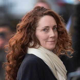 Lancaster And Morecambe Citizen: Rebekah Brooks arrives at the Old Bailey in London.