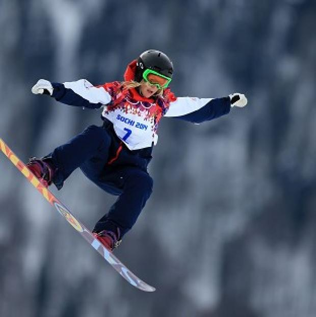 Lancaster And Morecambe Citizen: Jenny Jones won a bronze medal in Sochi.